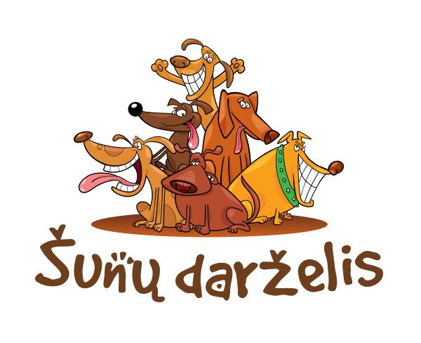 Šunų darželis Logo